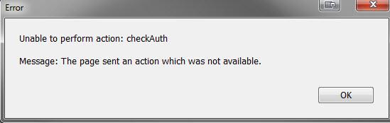 error-authenticate